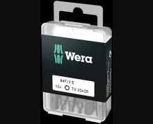 Набор насадок Wera 867/1 DIY TORX PLUS TX 25 10 шт.